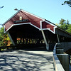 A covered bridge!