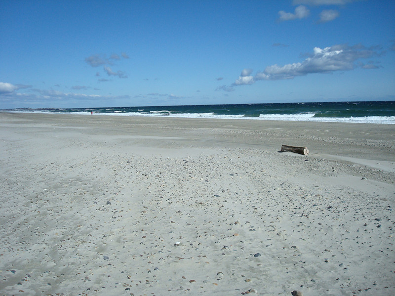 Beach in Marshfield, MA.