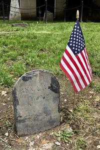 Tombstone of Paul Revere @ Granary Burial Ground, Boston
