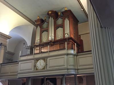 Organ Pipes @ King's Chapel, Boston
