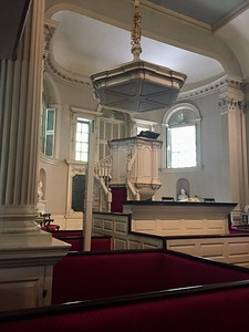 Pulpit @ King's Chapel, Boston