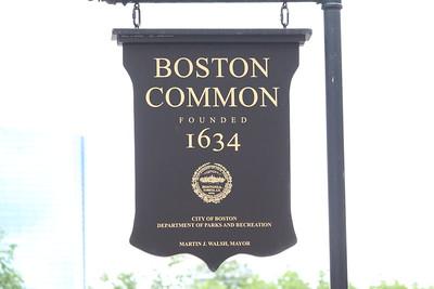 Boston Common Signage