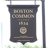 Boston Common Signage