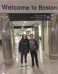 Grace & Brendan Arrived @ Logan Field [BOS]