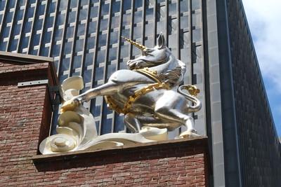 Unicorn on Old State House, Boston