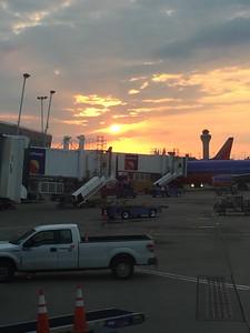 Southwest Airlines Sunset Departure @ Lambert Field [STL]