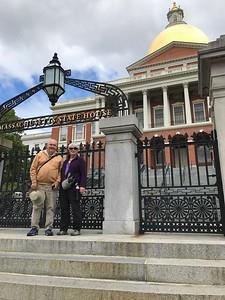 David & MaryAnne @ Massachusetts State House