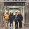 David, Grace, Brendan, & MaryAnne Arrived @ Logan Field [BOS]