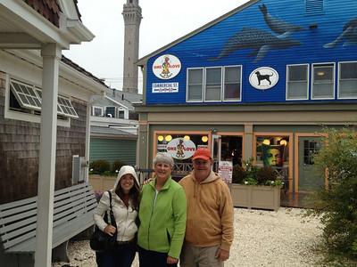 Liisa, MaryAnne & David @ Provincetown