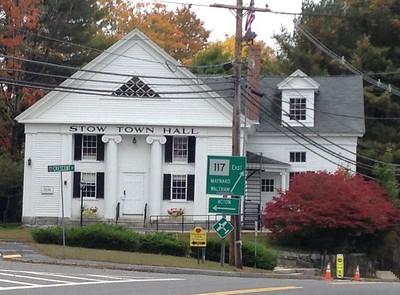 [Old] Stow Town Hall @ Stow, Massachusetts