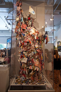 Another 9/11 tribute that will be displayed at the soon to be Memorial Museum.