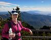 Jacki on Sandia Peak