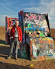 Mike Goes to Cadillac Ranch