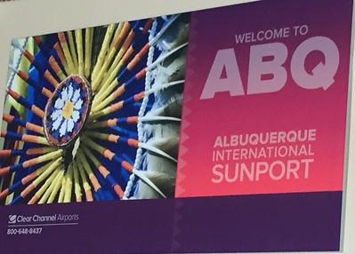 Albuquerque Poster @ Albuquerque International Airport