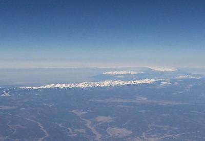 Mountain Scenery over Springer, New Mexico
