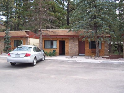 Our home in Ruidoso... The West Winds Lodge.
