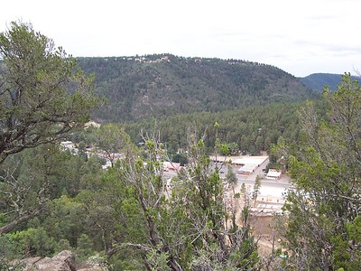 Day 3 - A view of Ruidoso from the tower.