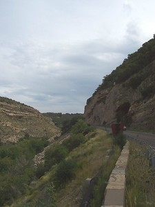 Along Hwy 82 approaching Alamogordo.