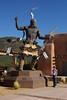 Jacki and Indian Sculpture