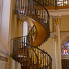 """Mystery Staircase""...Loretto Chapel.  Santa Fe New Mexico"