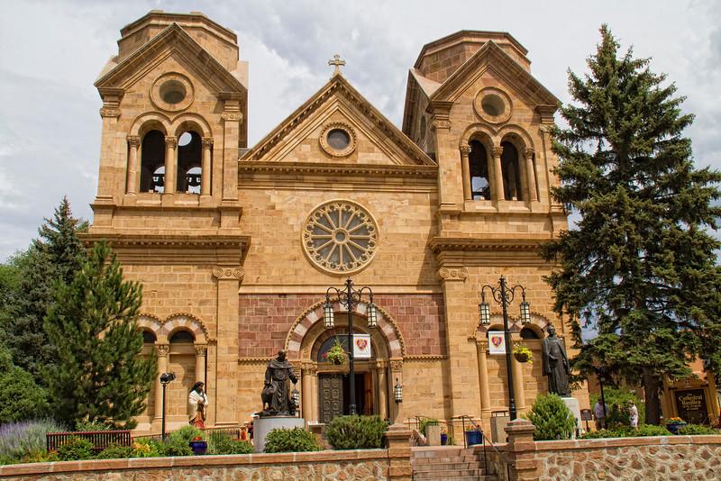 St. Francis Cathedral.  Santa Fe