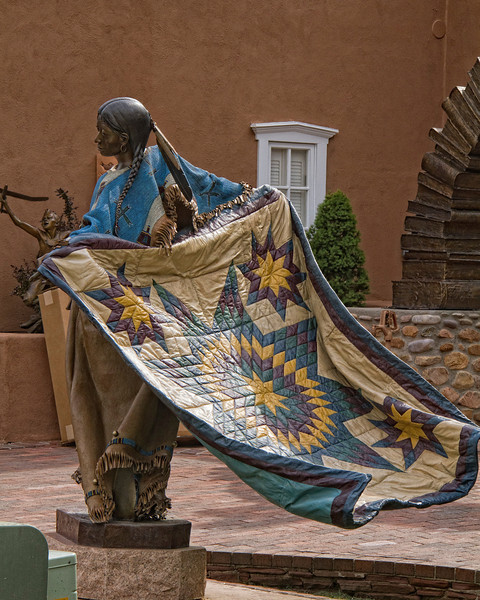 Sculpture...Art Gallery on Canyon Rd.  Santa Fe.