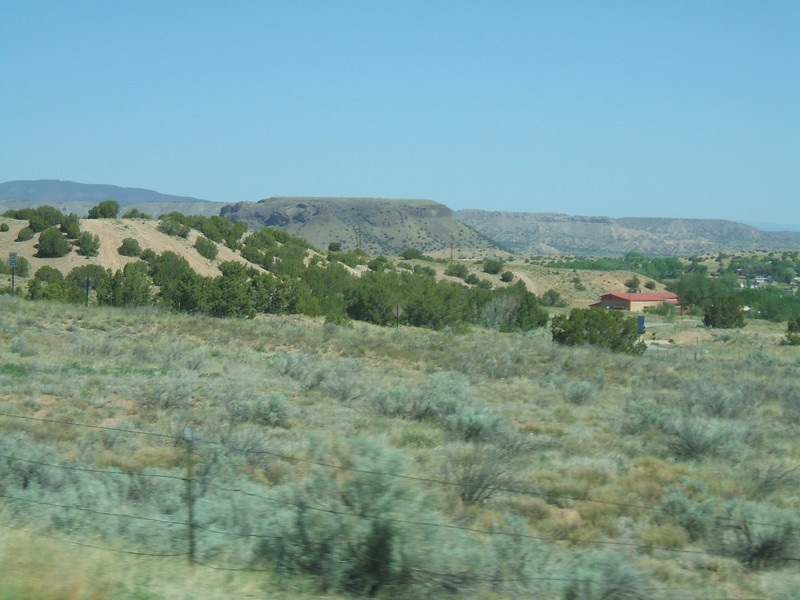 highway 501 on the way to los alamos