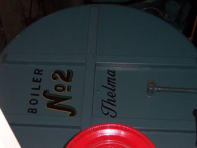 Steamship boiler #2, a.k.a. Thelma.