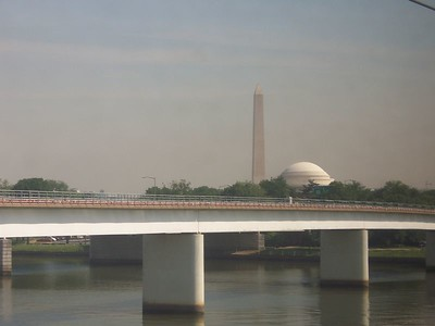 DC, from the train, just passin' thru.
