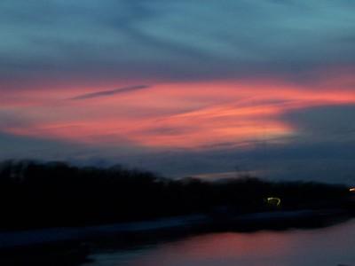 Sunset.  Nice.