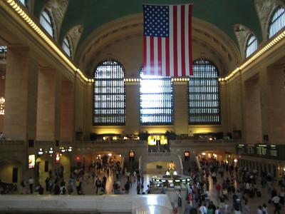 Inside Grand Central Station