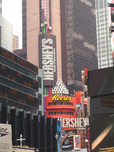 Hershey's on Times Square