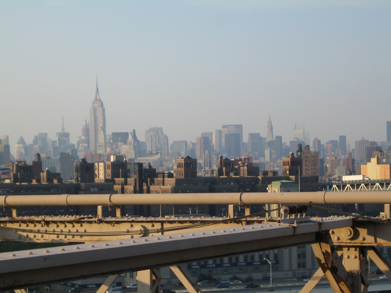 Midtown Manhattan from the Bridge
