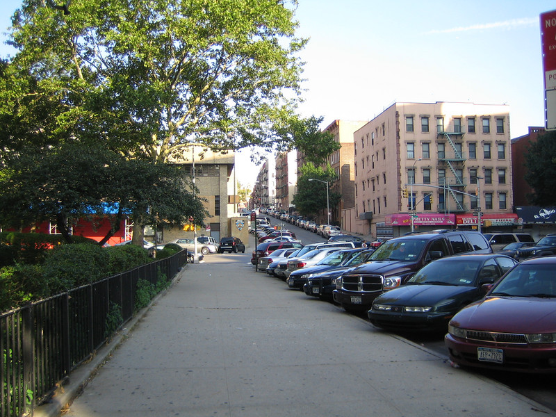 Sara's neighborhood in Spanish Harlem