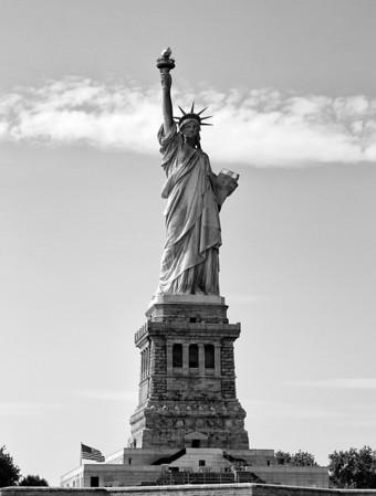 New York 2012 Black and White