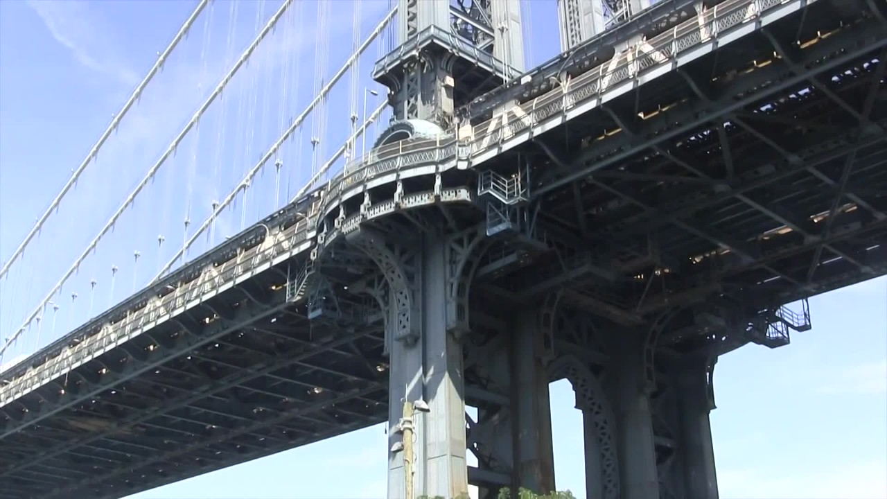 "Video:  8 minsd.   Sun., Aug. 21, 2016, Ray & Penny visit DUMBO ""Down Under Manhattan Bridge Overpass"" ~~ Brooklyn Heights, New York"