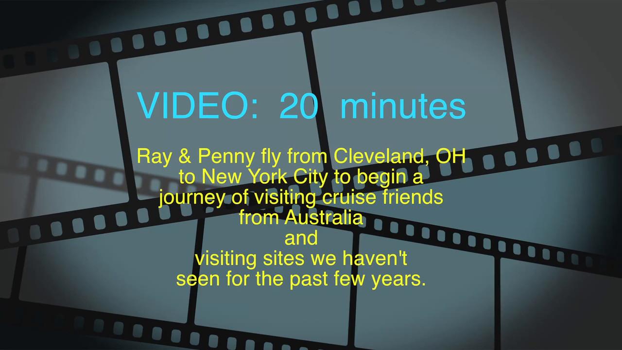 New York City, Ray & Penny, Fri., Aug. 19, 2016 to Monday, Aug. 22, 2016
