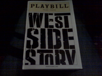 We got half price tickets to see West Side Story at the Palace Theater on Times Square.  Great vocals, fantastic, sexy, athletic dancing.  What a great show.