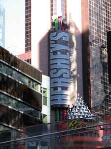 The Hershey's store at Times Square.