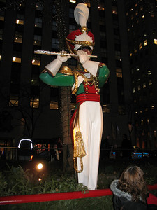 And of course, the flute player at Rockefeller Center.