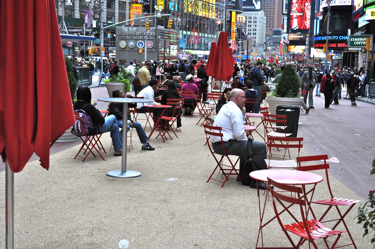 Times Square photos.  Wow, lots of people.
