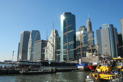 In which I visit the South St. Seaport.