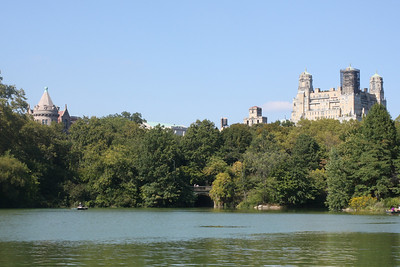 A walk through Central Park in October, 2013.