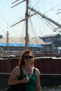 I meet up with Carolyn for a day wandering about NYC, in which we visit the South St Seaport and see the much anticipated X-Files: I Want to Believe.