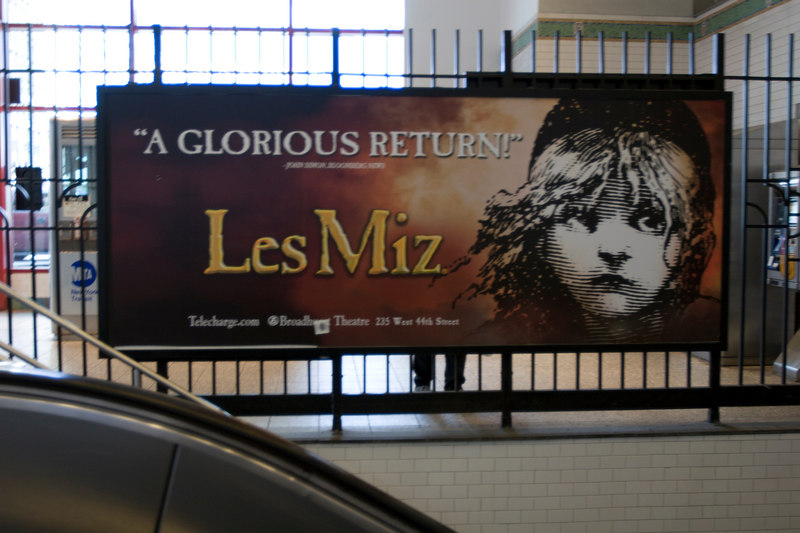 "Remember when it was called ""Les Miserable?"""