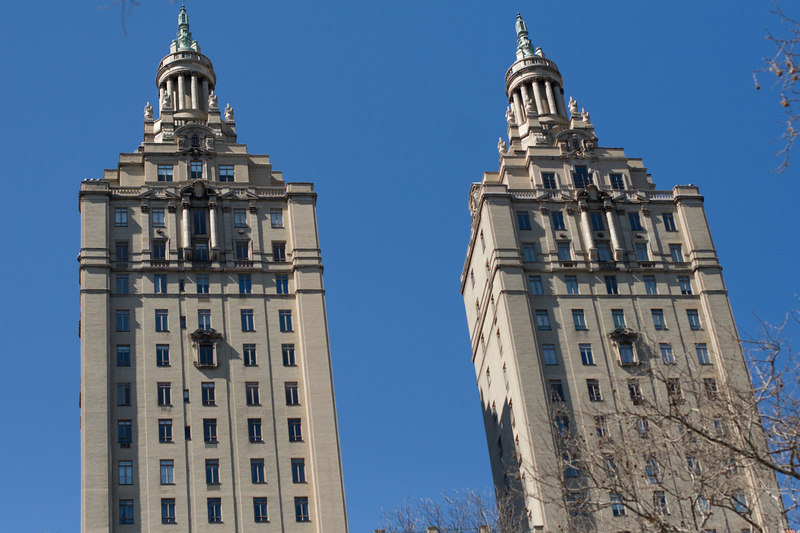 Arpartment Building By Central Park