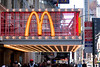 We didn't eat at this McDonald's In Times Square