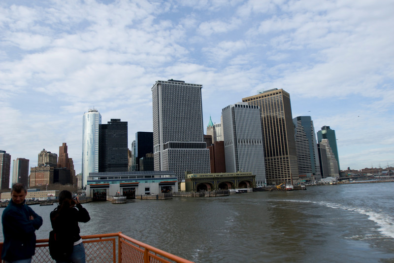 Shooting South Manhattan