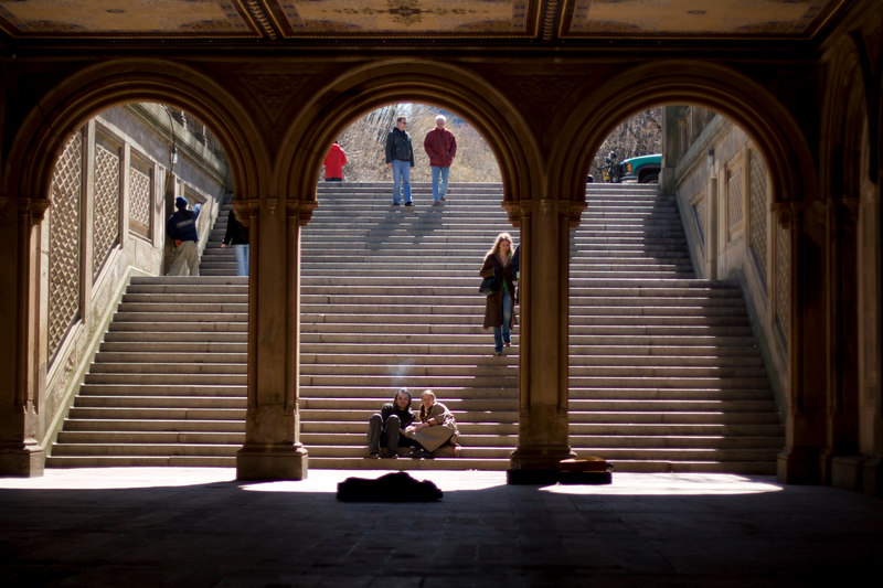 Arches and People