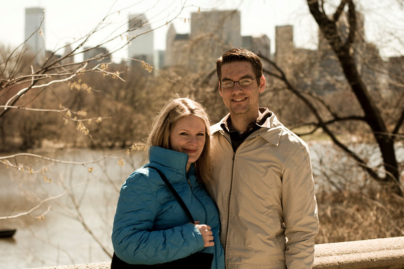 Jamie and I in Central Park